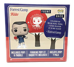 Funko POP Movies Forrest Gump #770 Limited Edition Exclusive Blue Outfit and Ping Pong Paddle and Bonus Box of Chocolates