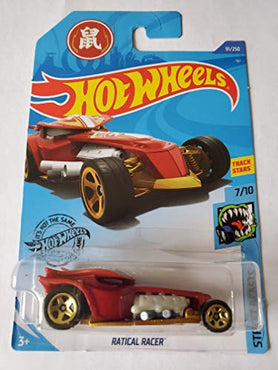 Hot Wheels 2020 Street Beasts Ratical Racer, Red 91/250