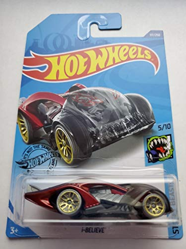 Hot Wheels 2020 Street Beasts i-Believe, Red 117/250