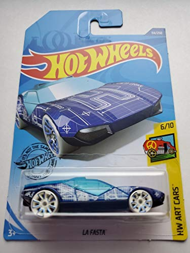 Hot Wheels 2020 Hw Art Cars La Fasta, Blue 114/250