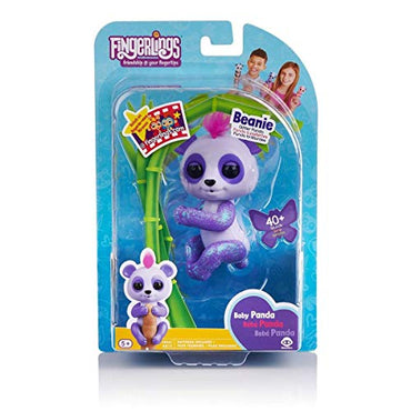 WowWee Fingerlings - Interactive Baby Panda Beanie