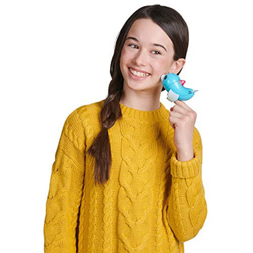 WowWee Fingerlings Baby Light-Up Dolphin - Blues (Blue) - Interactive Toy