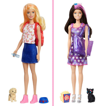 Barbie Ultimate Color Reveal Dog Park to Movies Fashion Doll