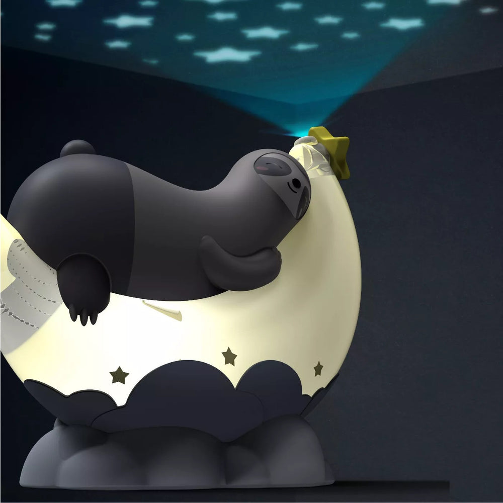 FAO Schwarz Night Light Sound Machine with Sloth and Moon
