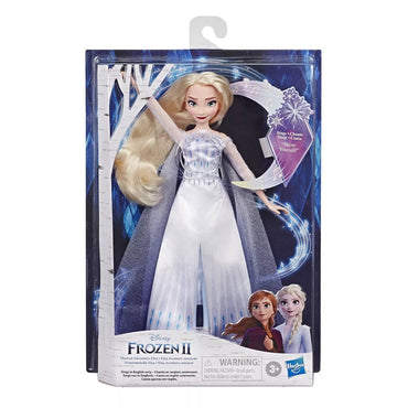 Disney Frozen 2 Musical Adventure Elsa Doll by Hasbro