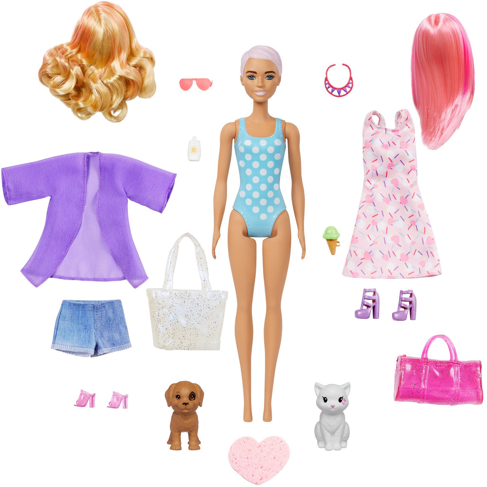Barbie Ultimate Color Reveal Beach to Party Reveal doll