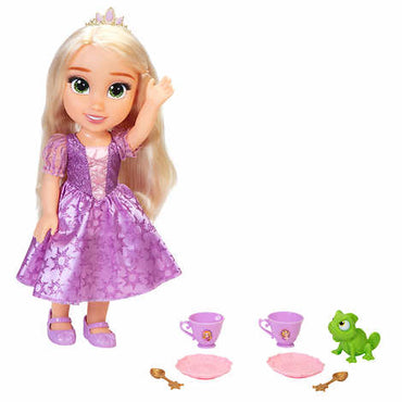 Disney Princess Doll Tea Time with Rapunzel and Pascal By Jakks Pacific