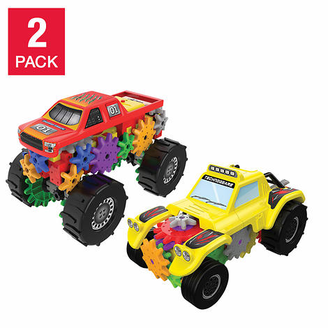Techno Gears Monster Truck and Off Road Racer 2 Pack Set