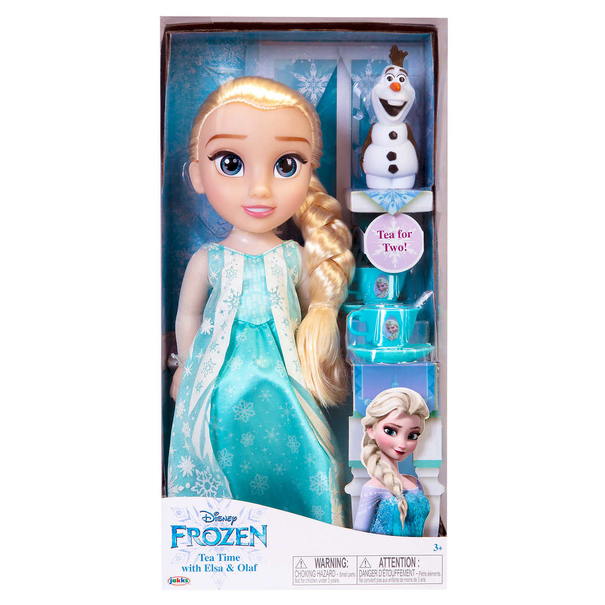 Disney Frozen Elsa Doll & Sven Tea TIME Set By Jakkss Pacific