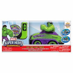 Marvel Hulk Super Hero Adventures Remote Radio Control Tank