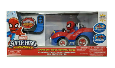 Marvel super heroes adventures Spider Man Buggy/Voiture/ Buggy  with 6 way  remote control
