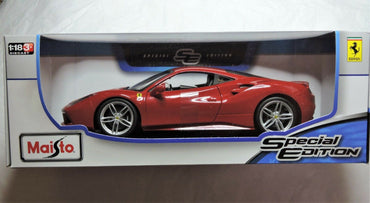 Maisto 1:18 Special Edition Ferrari 488 GTB Officially Licensed Product