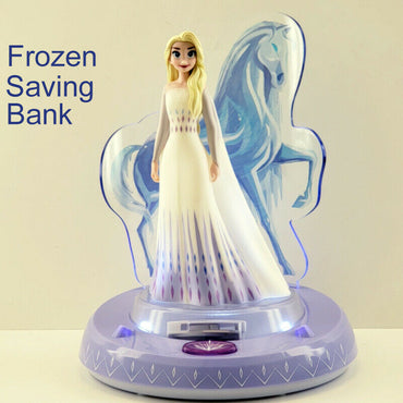 Disney Frozen 2 Elsa Light and Sound Coin Bank