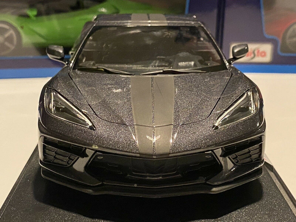 Maisto 2020 CHEVROLET CORVETTE STINGRAY C8 GRAY 1:18