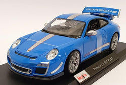 Maisto 1/18 Scale - Porsche 911 GT3 RS 4.0 - Blue
