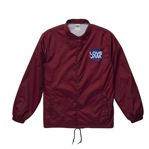 Love Jam Coach Jacket(バーガンディ)
