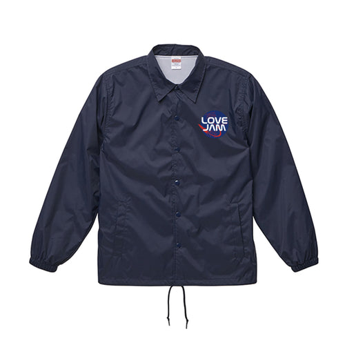 Love Jam Coach Jacket(ネイビー)