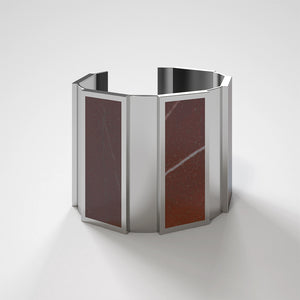 FORUM CUFF BRACELET - ROSSO LEVANTO - The Archismith