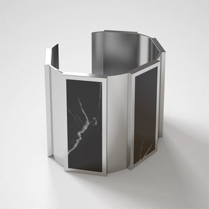 FORUM CUFF BRACELET - NERO MARQUINIA - The Archismith