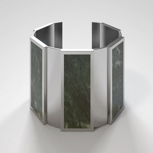 FORUM CUFF BRACELET - VERDE ALPI - The Archismith