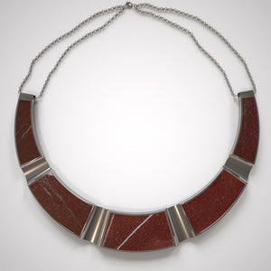 FORUM NECKLACE - ROSSO LEVANTO - The Archismith