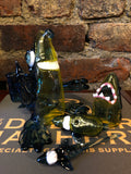 Heady 3-piece Shark Set by Kahuna Glass