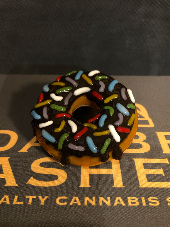 Donut Dry Pipe by Jam Bear Glass
