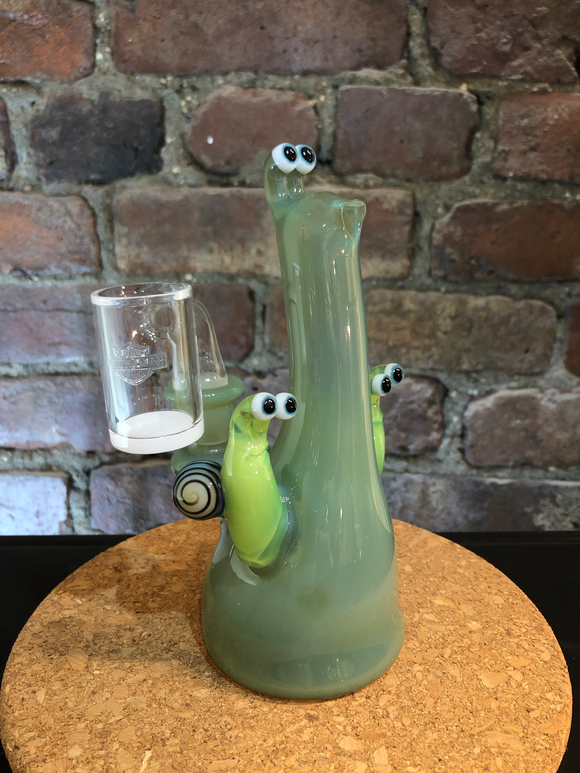 Slug w/ Buddies by Browski Glass