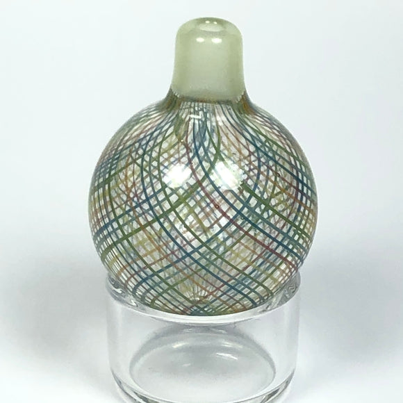 Reticello Bubble Cap by Korey Cotnam Glass