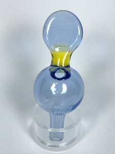 Flat Handle Full Colour Bubble Cap by Mylene Glass World