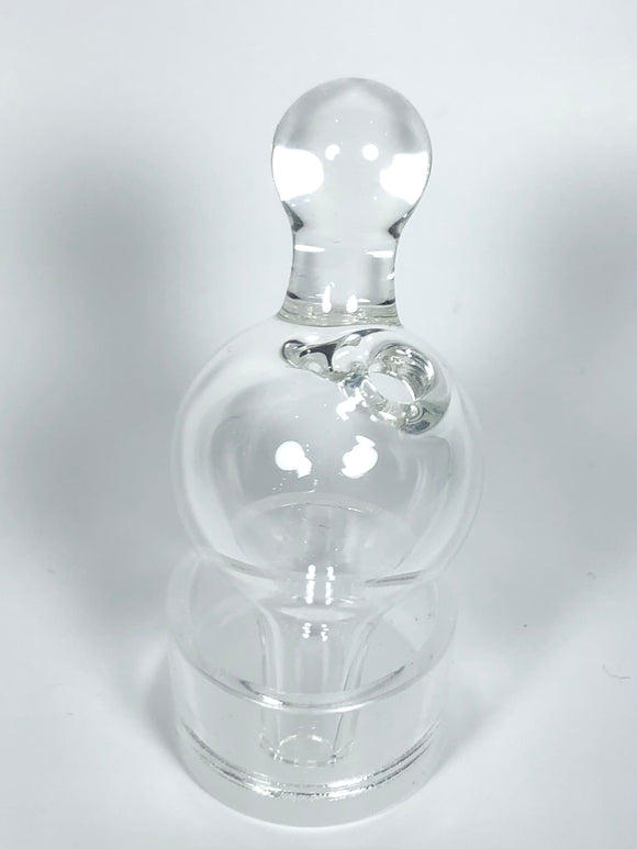 Clear Bubble Cap by Mylene Glass World