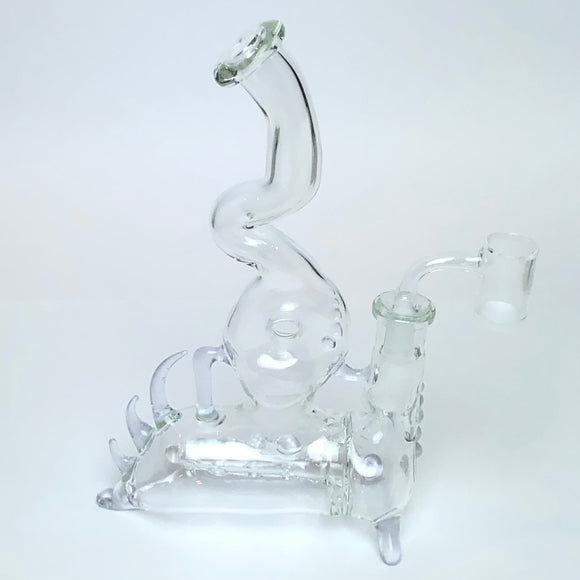 Clear Gibline by Gibsons Glassworks