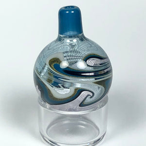 Wig Wag Bubble Cap by Korey Cotnam Glass