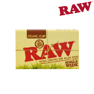 Raw Organic Regular Double-Window Papers