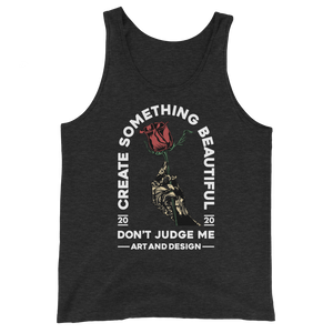 Create Something Beautiful Unisex Tank Top