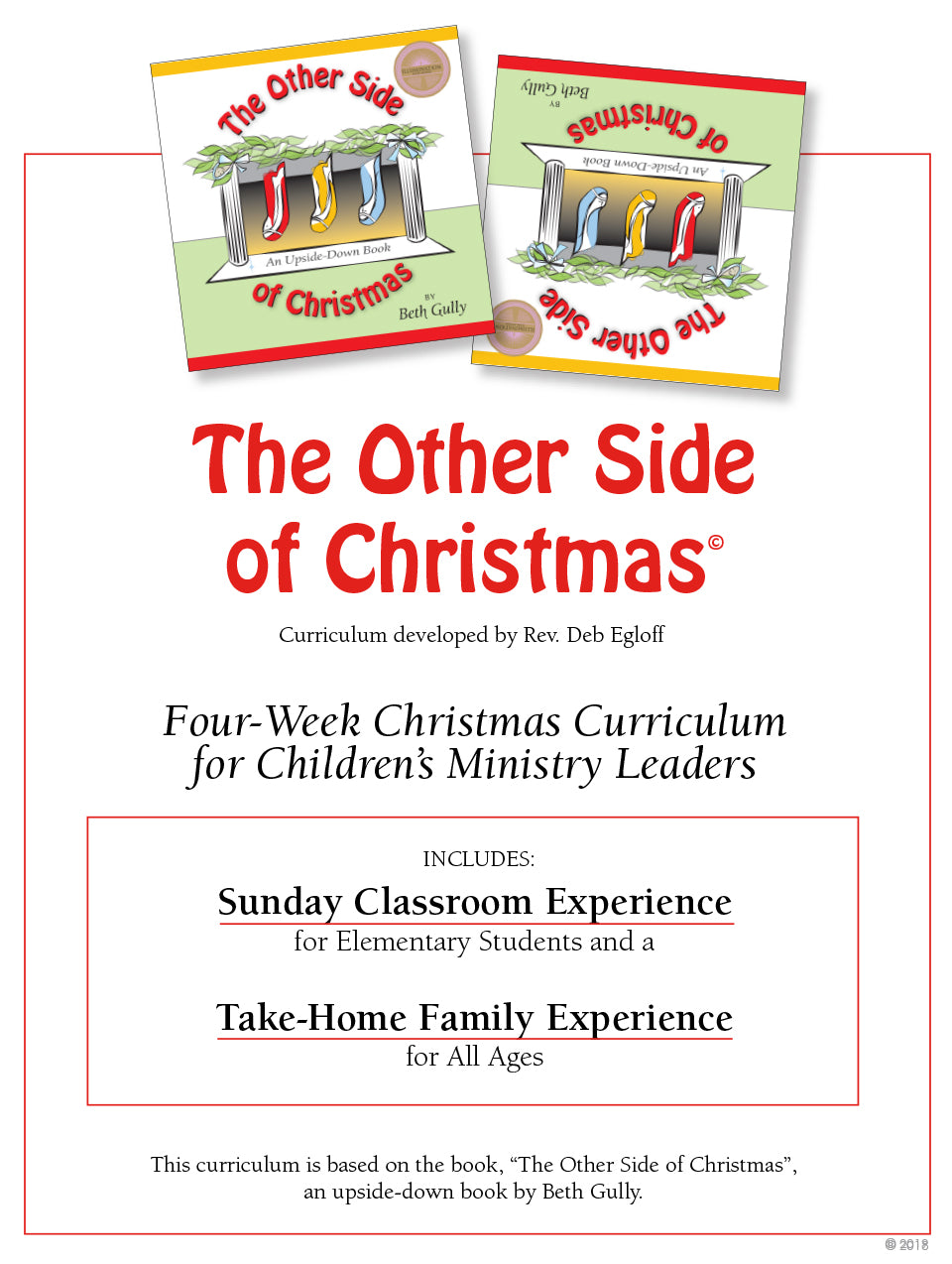 4-week Advent Curriculum - K-5 - Sunday School