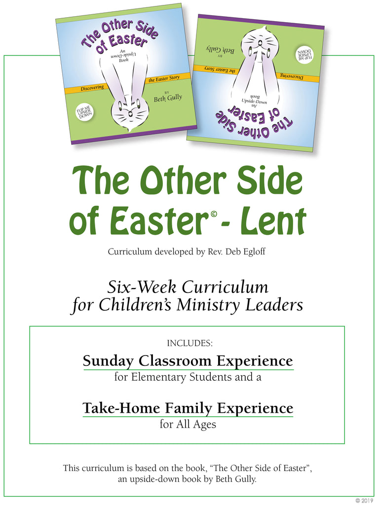 """Easter Lenten Curriculum"" - Six-Week Sunday Classroom Leader's Guide"