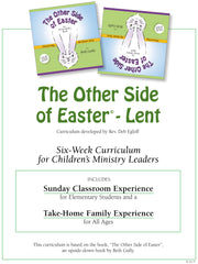 'Easter Book and Lenten Curriculum' - Six-Week Sunday Classroom Leader's Guide and Book