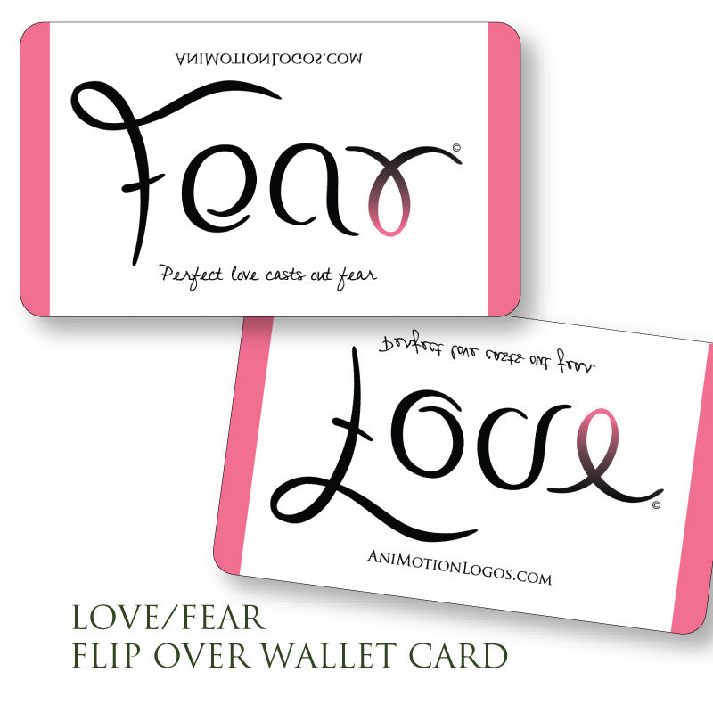 Wallet Cards - Fear Love - Set of 10