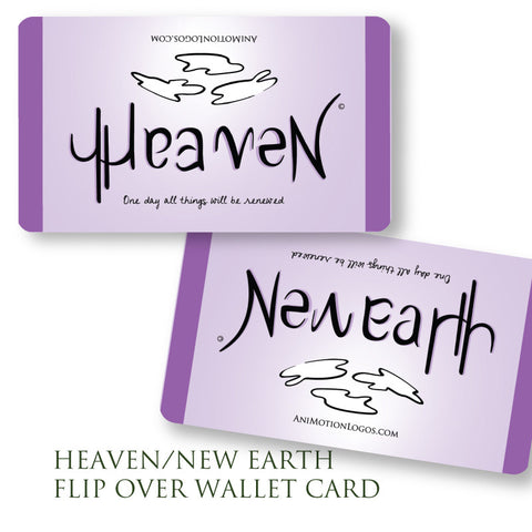 Heaven New Earth Wallet Cards - Set of 10