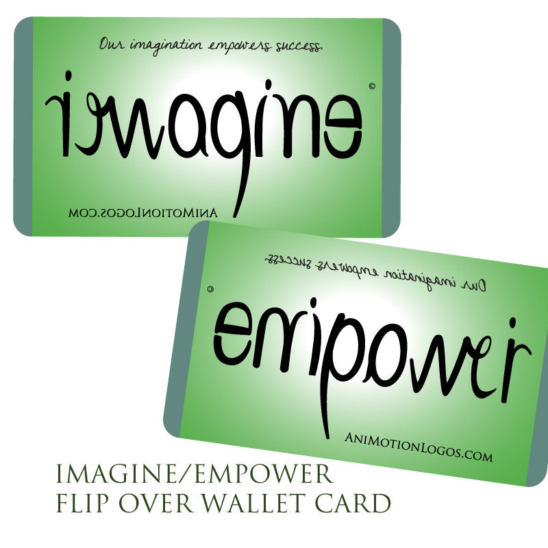 Wallet Cards - Imagine Empower - Set of 10