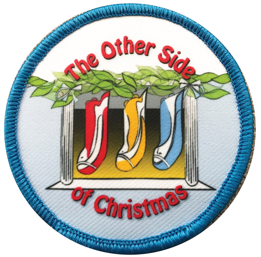 AHG - Ambigram Patch for 'The Other Side of Christmas'