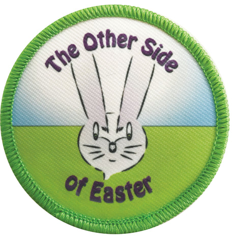 "Ambigram Patch for ""The Other Side of Easter"""