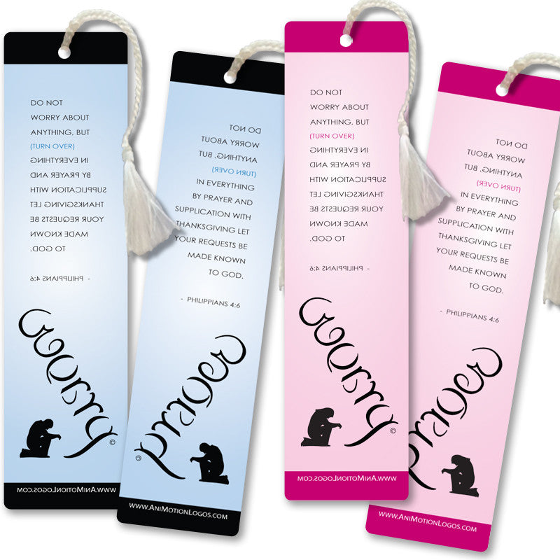 Worry Prayer Bookmarks (Set of 4)