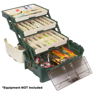 Plano Hybrid Hip 3-Tray Tackle Box - Forest Green [723300]