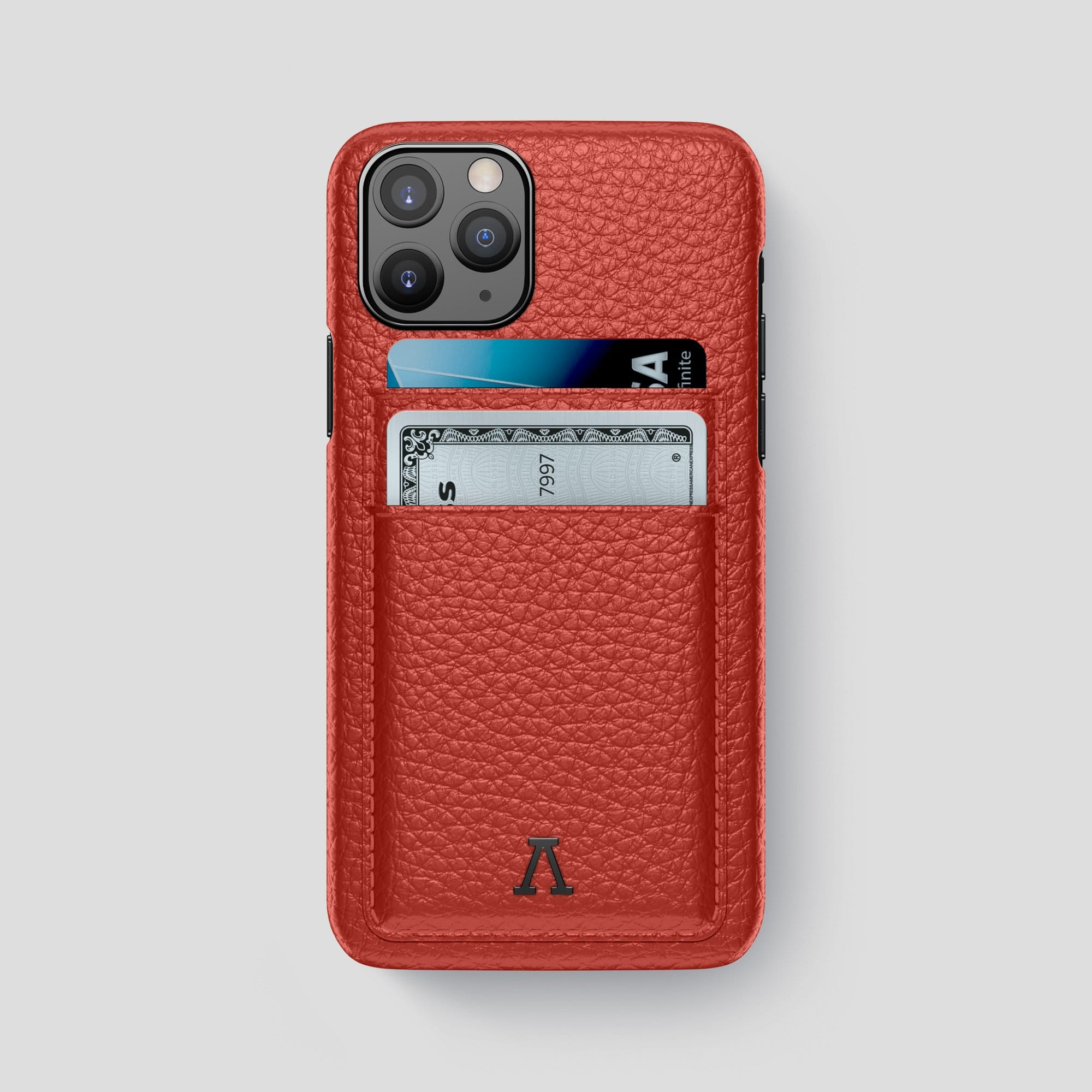 iPhone 11 Pro Max Card Case Calf