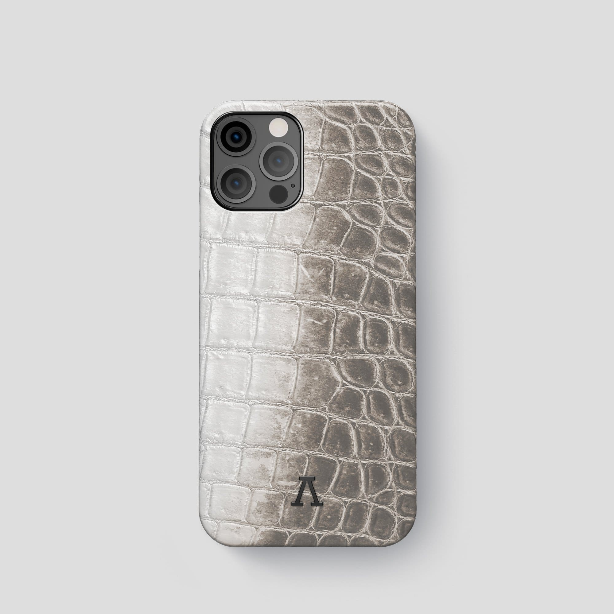 iPhone 12 Pro Classic Case Himalayan Crocodile with Carbon Skull