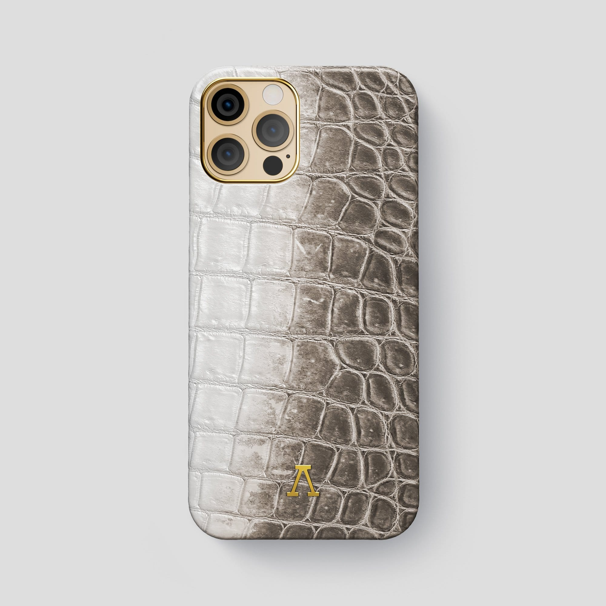 iPhone 12 Pro Max Classic Case Himalayan Crocodile with Carbon Skull