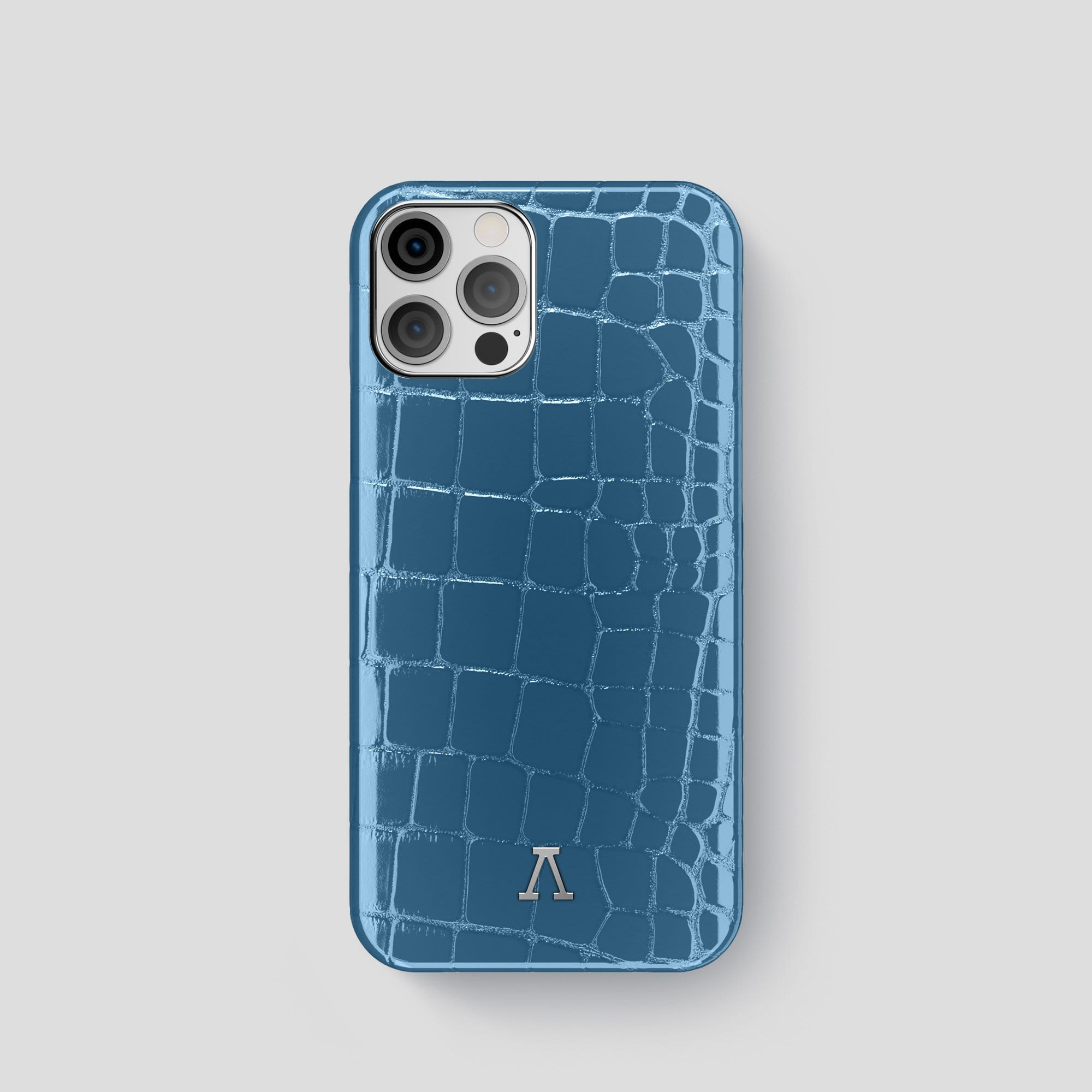 iPhone 12 Pro Classic Case Shiny Alligator
