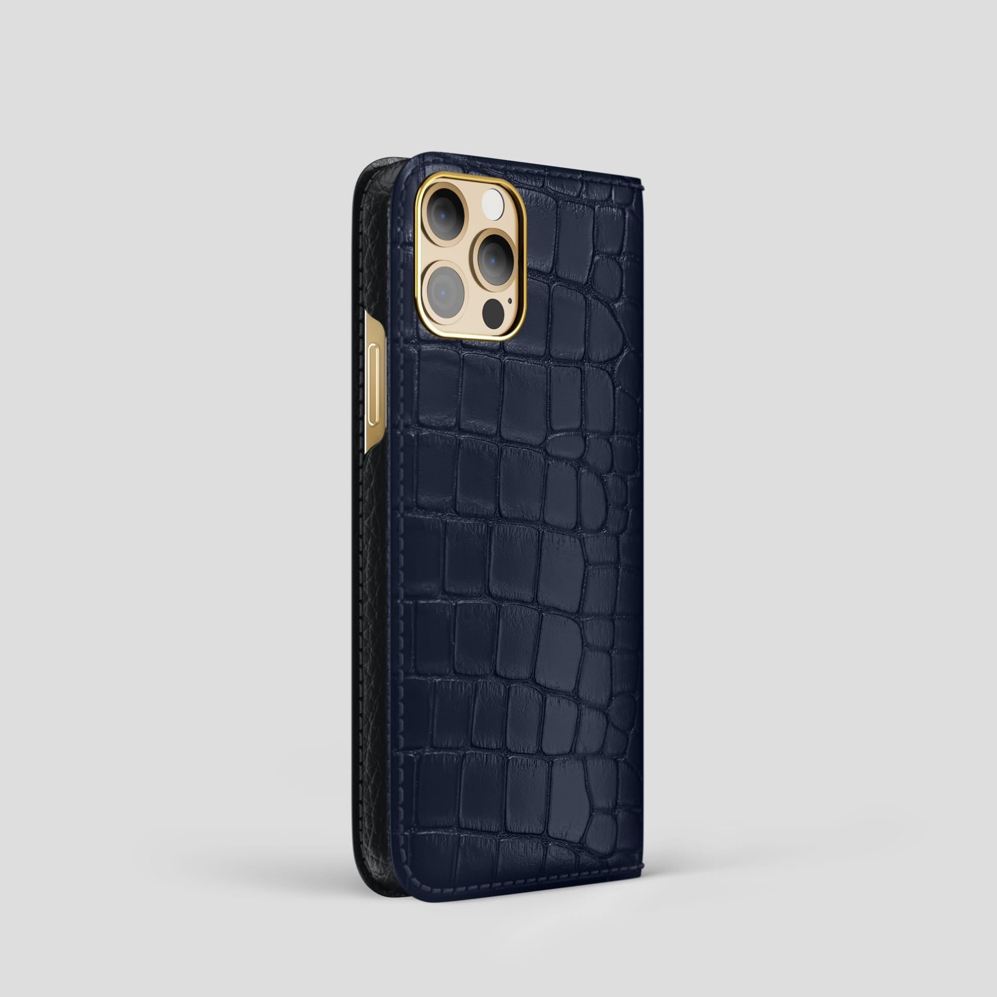iPhone 12 Pro Folio Case Alligator